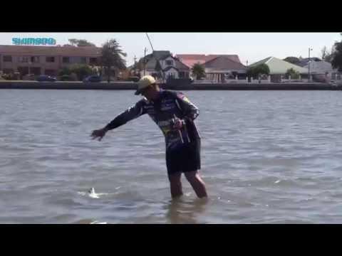ASFN SHIMANO Ambassador Light Tackle Fishing In The Swartkops Estuary