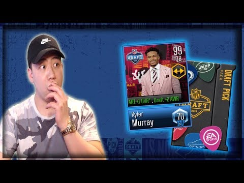 MADDEN MOBILE 20 COVER ATHLETE!! NFL DRAFT NIGHT PACK OPENING!!