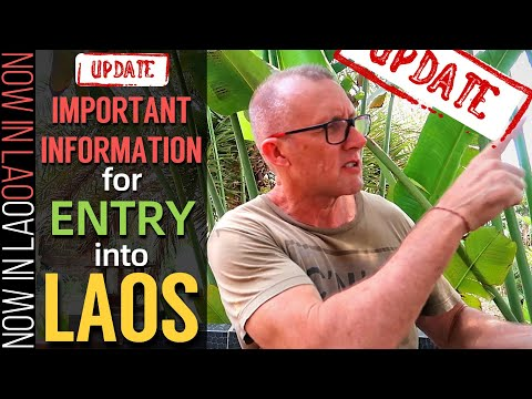 IMPORTANT INFORMATION for Entry into Laos UPDATE | Now In Lao