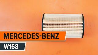 Як поміняти моторне масло і масляний фільтр на MERCEDES-BENZ A W168 [Інструкція]