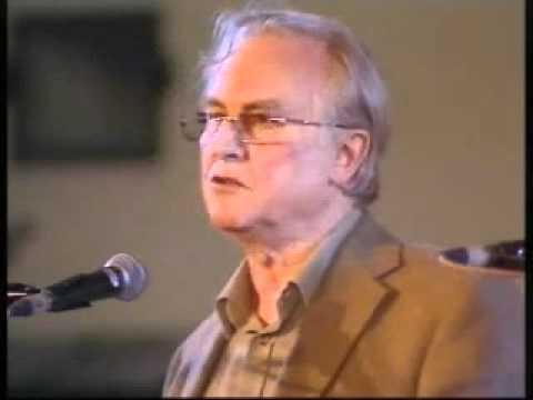 Book reading by Richard Dawkins and Lalla Ward.