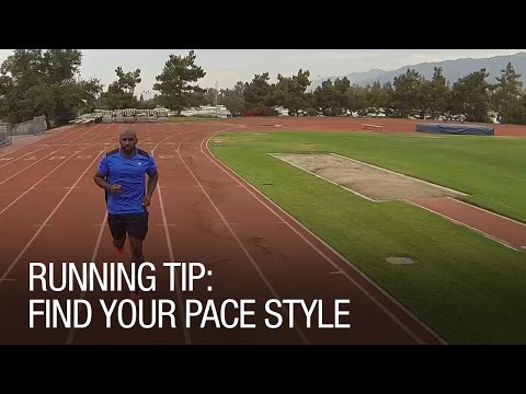 Running Tip: Find Your Pace Style