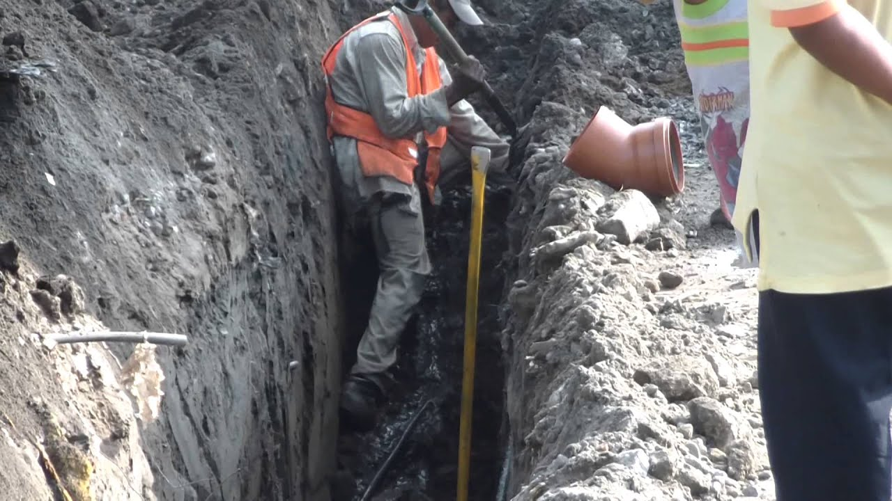 Como colocar tubo de pl stico para drenaje sanitario 3 - Tubos desague pvc ...
