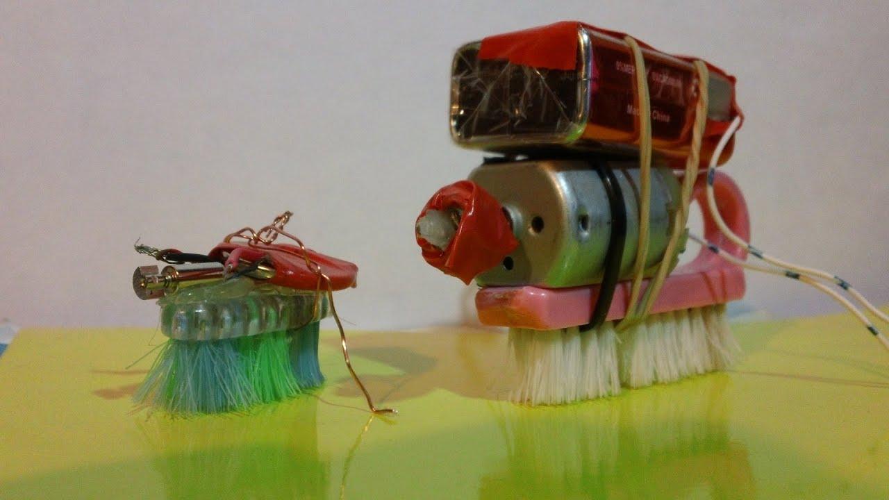 Mini robot casero como se hace electronic bug youtube - Que hace un robot de cocina ...