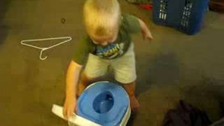 Cole ready to potty train