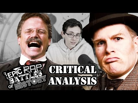 [Critical Analysis] Theodore Roosevelt vs Winston Churchill. Epic Rap Battles of History