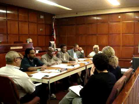 East Cleveland City Council Finance Committee meeting 10/13/2014