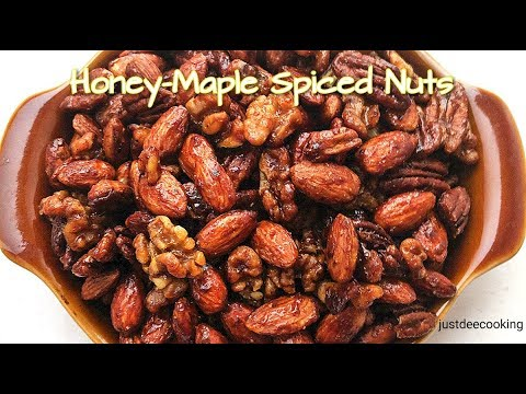 How To Make Spiced Nuts/Honey-Maple Spiced Nuts