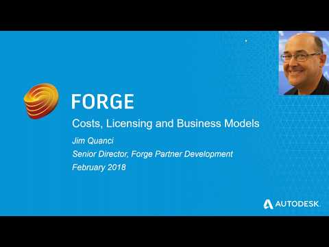 Update: Autodesk Forge Pricing, Licensing and Business Models