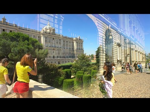 🇪🇸 MADRID WALK from Almudena Cathedral to the Royal Palace of Madrid | SPAIN