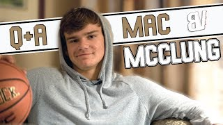 Mac McClung QA Why Georgetown Planning Dunks Justin Bieber Dislikes Yeezys  More