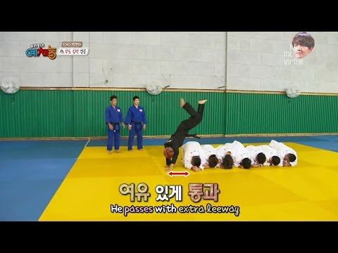 BAEKHYUN EXO - Hapkido skills  CUT Cool Kiz on the Block