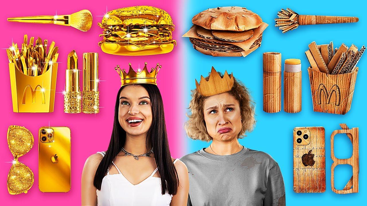 Богатая сестра vs Бедная сестра
