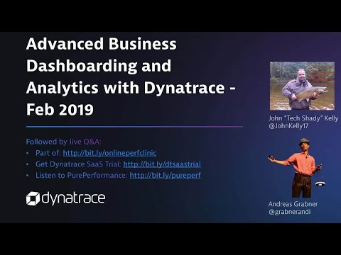 Advanced Business Dashboarding And Analytics With Dynatrace