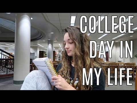 COLLEGE DAY IN MY LIFE: birthday haul, life updates, studying