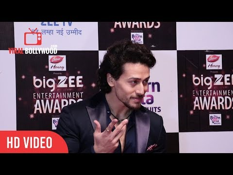 Tiger Shroff At BIg Zee Entertainment Awards 2017 | Baaghi 2 | Student Of The Year 2
