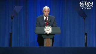 Pence: Catholics and All Christians 'Have an Ally' in President Trump