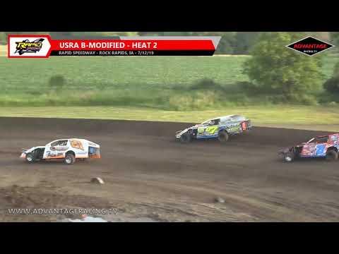 B-Modified Heats - Rapid Speedway - 7/12/19