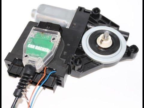 Запуск привода стеклоподъемника по шине LIN. Control A Window Lift Via LIN Bus And CAN Bus