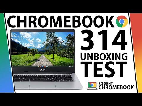 Acer Chromebook 314 Test Unboxing C933t C0rc Mit Touchscreen Deutsch Bester Laptop Unter 400 Youtube