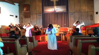 """Because of Who You Are"" Praise Dance by Vicki Yohe"