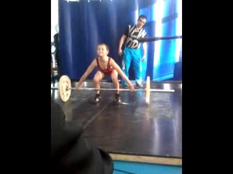 Областные соревнования по тяжелой атлетике от 42 кг до 56 кг. Петропавловск ноябрь 2014 г.