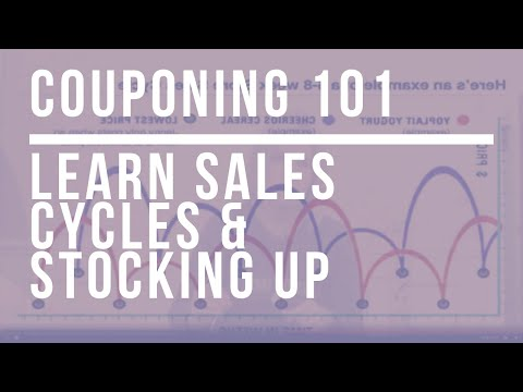 Real Extreme Couponing: Learn Sales Cycles & Stocking Up