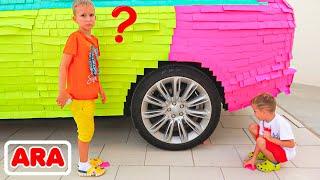 سيارة فلاد ونيكي الملونة لأمي