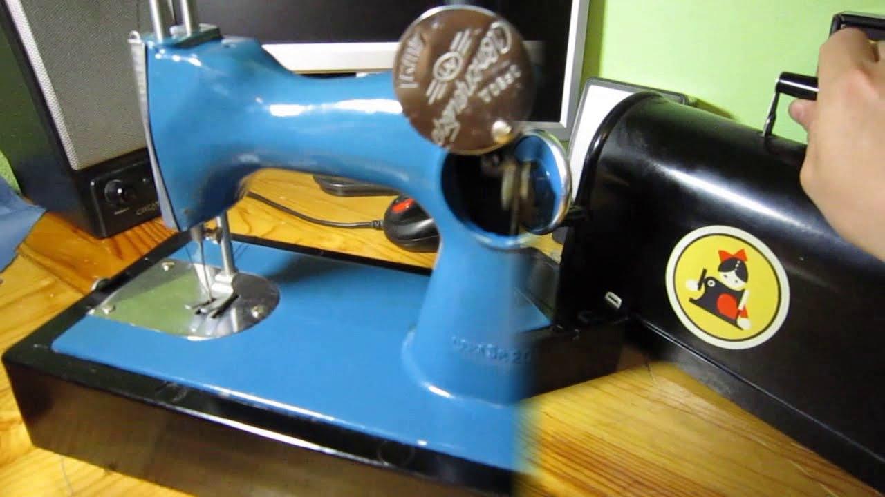 Детская швейная машинка. Привет из ссср. / игрушки нашего детства.