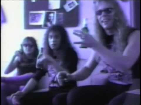 Cliff em all drinking scene - Tesla - Comin Atcha Live