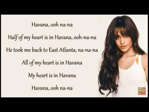 Havana lyrics / Camila Cabello