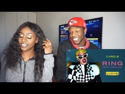 Cardi B - Ring feat. Kehlani [Official Audio] | Holly Sdot REACTION