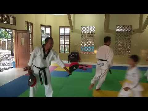 Kab. Banjar Latihan Taekwondo