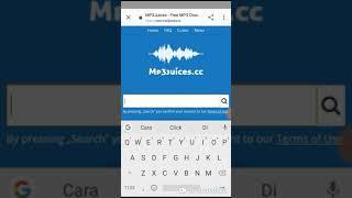 Gambar cover Cara download lagu MP3 dari google dengan mudah