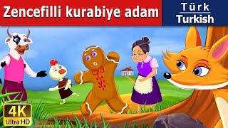 Zencefilli kurabiye adam - Peri Masalları - 4K UHD - Turkish Fairy Tales - türkçe peri masalları