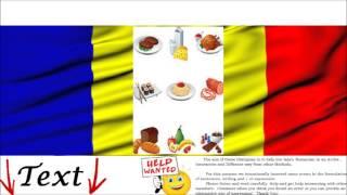 Romanian Conversation - Meals of the Day = Mesele Zilei - Audio Dialogue & Activities Free Online