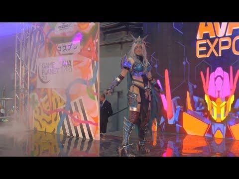 Cosplay Sindragosa World of W. /Ava Expo 2017/