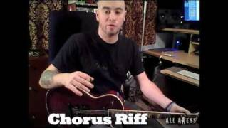 DevilDriver Clouds Over California Guitar Lesson Part  2