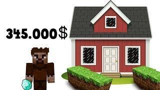 ZENGİN VS FAKİR #85 - Youtuber Fakir Yeni Ev Aldı (Minecraft)