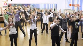 Урок танцев в школе №85 г. Екатеринбург. Живи ярко!