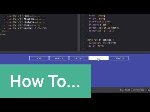 How To Create Simple Button Fades