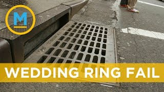 This couple lost their engagement ring in an NYC subway grate | Your Morning