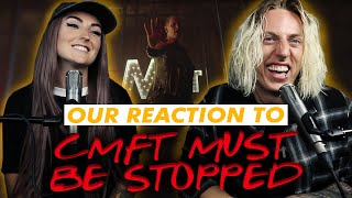 Wyatt and @Lindevil React: CMFT Must Be Stopped by Corey Taylor (feat. Tech N9ne & Kid Bookie)