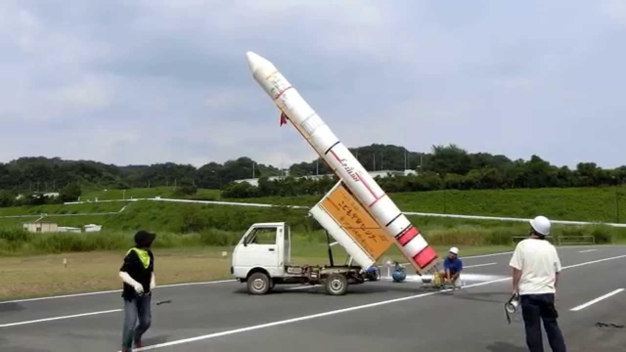 富岡ロケット祭りでのイプシロン...