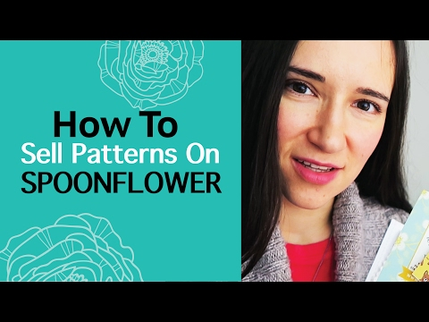 Spoonflower review 2017. How to sell pattern designs on Spoonflower fabric, wallpaper, wrapping