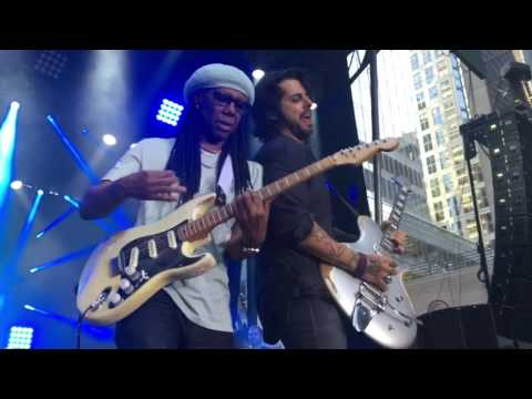 Mandou Bem-Live- Jota Quest ft. Nile Rodgers