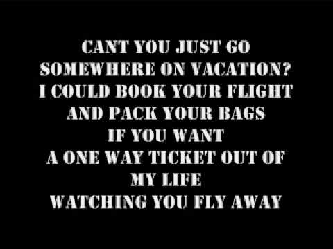 VACATION SIMPLE PLAN LYRICS