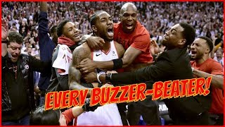Every Walk-Off Buzzer-Beater in the NBA Playoffs! (Last 10 Years)