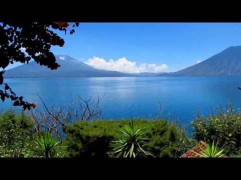 The Beautiful Lake Atitlan (Lago Atitlán), Guatemala