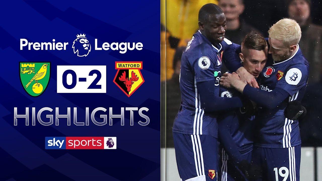 Watford seal their first league win of the season! | Norwich 0-2 Watford | Premier League Highlights